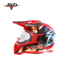 ABS material ECE Approved Red Racing Helmet used motorcycle helmets for sale