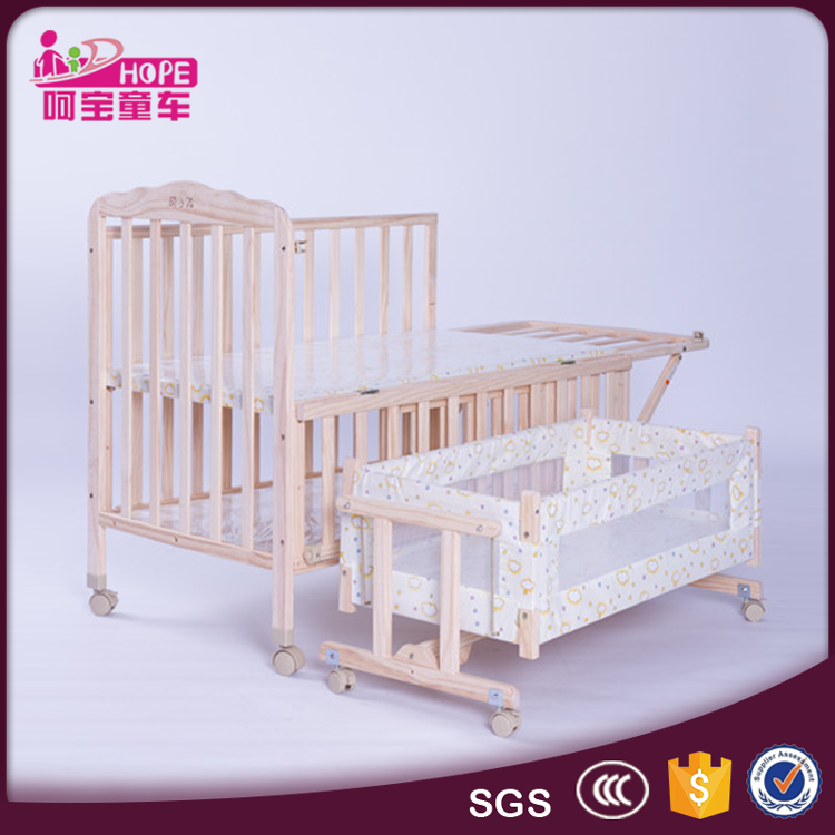 Hot Sale Wooden Baby Cot