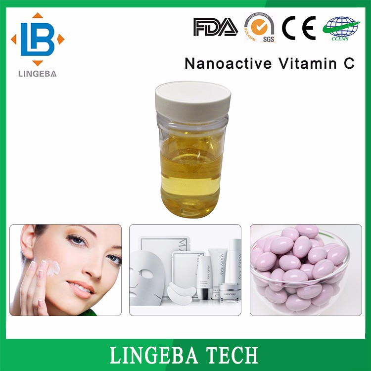 Alibaba China Cosmetic Raw Materials 10% Nanoactive Vitamin C