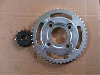 New style motorcycle sprocket GLPRO NEO 428- 46T/14T for indonesia