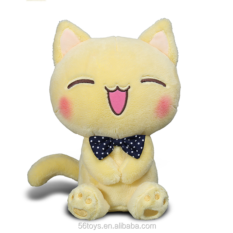 cartoon cat toy plush cat