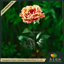 Pretty decoration peony artificial flower parts,flower wedding decor artificial