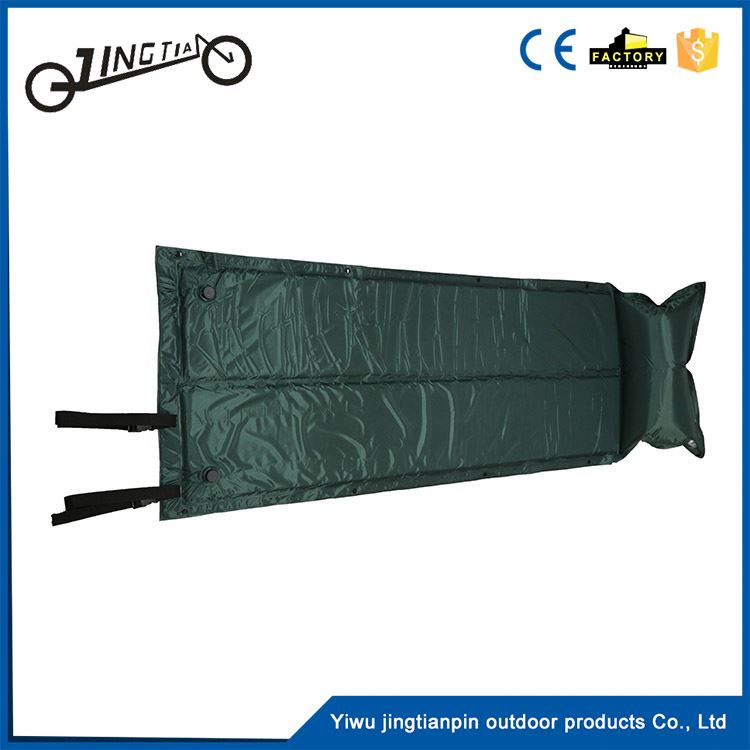 Hotsale outdoor automatic moistureproof sleeping pads waterproof inflatable dot tent air pad
