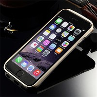 aluminum bumper covers for phone, new arrival mobile phone cover for iphone 6 metal case