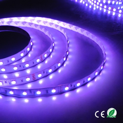 Low voltage flexible LED strip with SMD-5050 30/60/120leds/<strong>m</strong> with high brightness,waterproof /non-waterproof