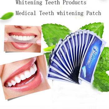 14pairs Box Teeth Whitening Strips Gel Care Oral Hygiene Clareador