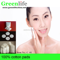 organic cotton pads cosmetic cotton pads manufacturers with wholesale