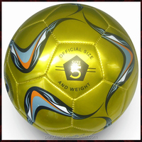 Official size and weight soccer ball football