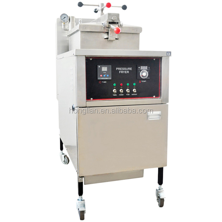 commercial used chicken pressure fryer/fried chicken fryer