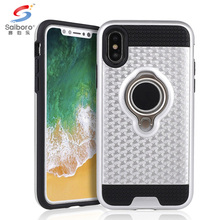 Free sample Phone Case For Iphone X, Ring Holder Case Phone Cover For iphone X case tpu PC
