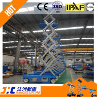 Hydraulic electrical Lifting equipment with foldable platform