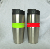 double wall travel mug with screw