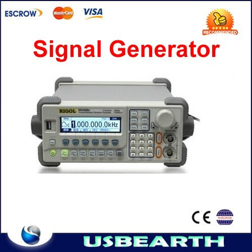 RIGOL DG1022U Updated from DG1022 Signal Generator 2 Channel 25 MHz Harmonic Sine Arbitrary Waveform Function Generator