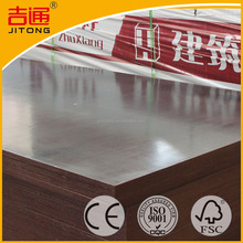 China Black Film Faced Concrete Shuttering Plywood