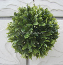 15CM Plastic Olive Grass Ball Artificial Topiary Ball