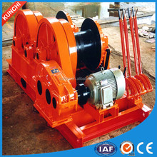 Double drum 5Ton electric piling winch with high speed