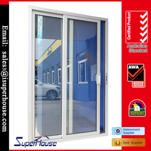 ALUMINUM SLIDING DOOR LUXURIOUS LOOK DOUBLE GLAZED TEMPERED GLASS