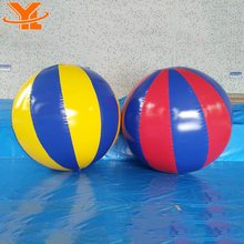 Popular PVC Inflatable Beach Ball, Commercial Beach Ball Games, Inflatable Christmas Beach Ball