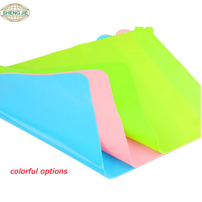 2017 Dinnerware Non-slip kids table meal mat food grade silicone placemat