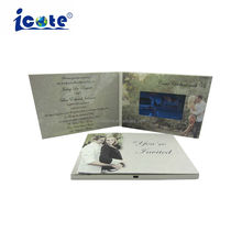 Wholesale Wedding Invitation Lcd Digital Video Card Brochure