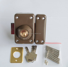 heavy duty sliding door night latch lock