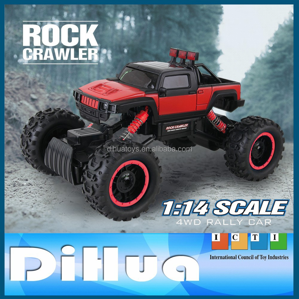 1:14 2.4 Ghz 4channels 4WD RC Vehicles Perfect for Rugged Off-Road Action