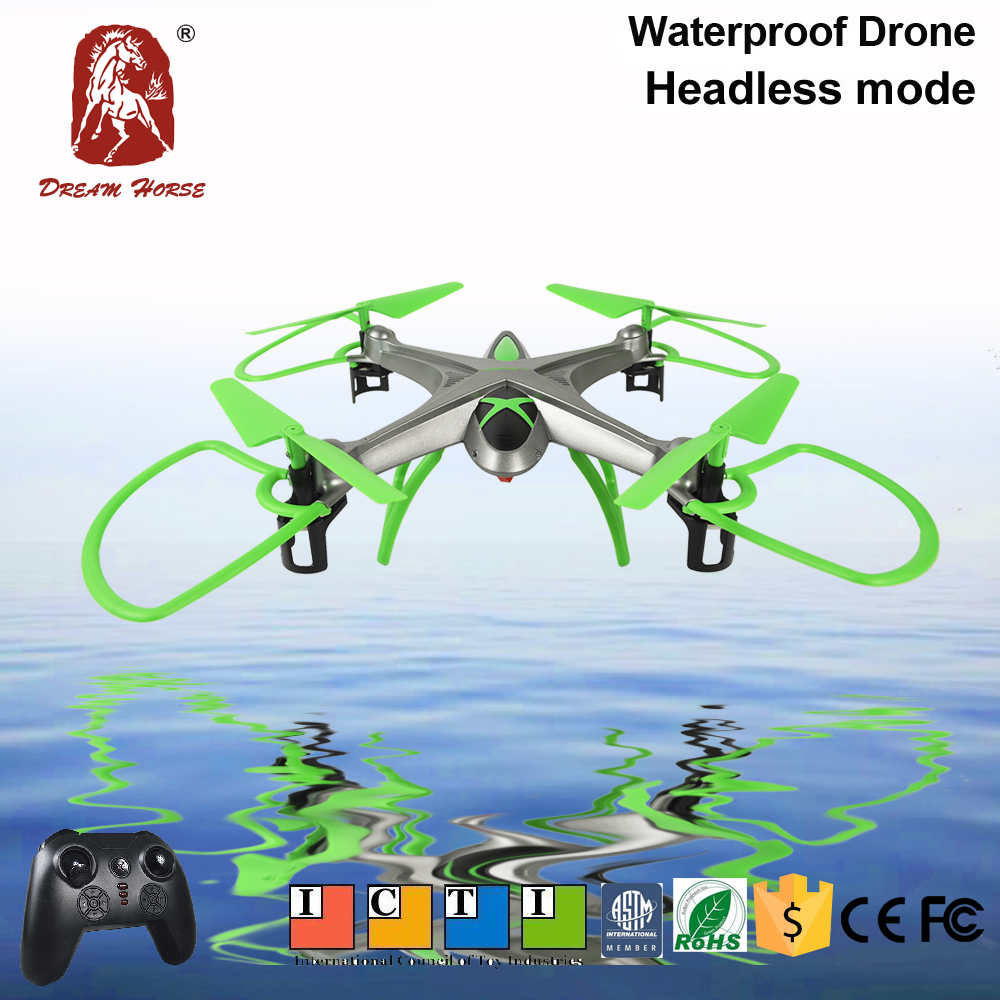 Amazing! Fall into the water can fly rc hexacopter drone with 360 Rotation Funtion