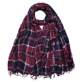 Factory orders Inner Mongolia cashmere scarf SWC838 autumn winter warm cashmere ladies grid shawl