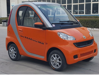 60V 4.0KW 2 seat small cars cheap electric cars four wheel electric car vehicle for sale with EEC Dot