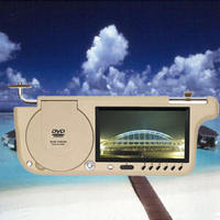 "7"" sun visor car DVD player + USB / SD / FM"