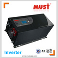 LCD display low frequency inverter 24v 220v 3kw