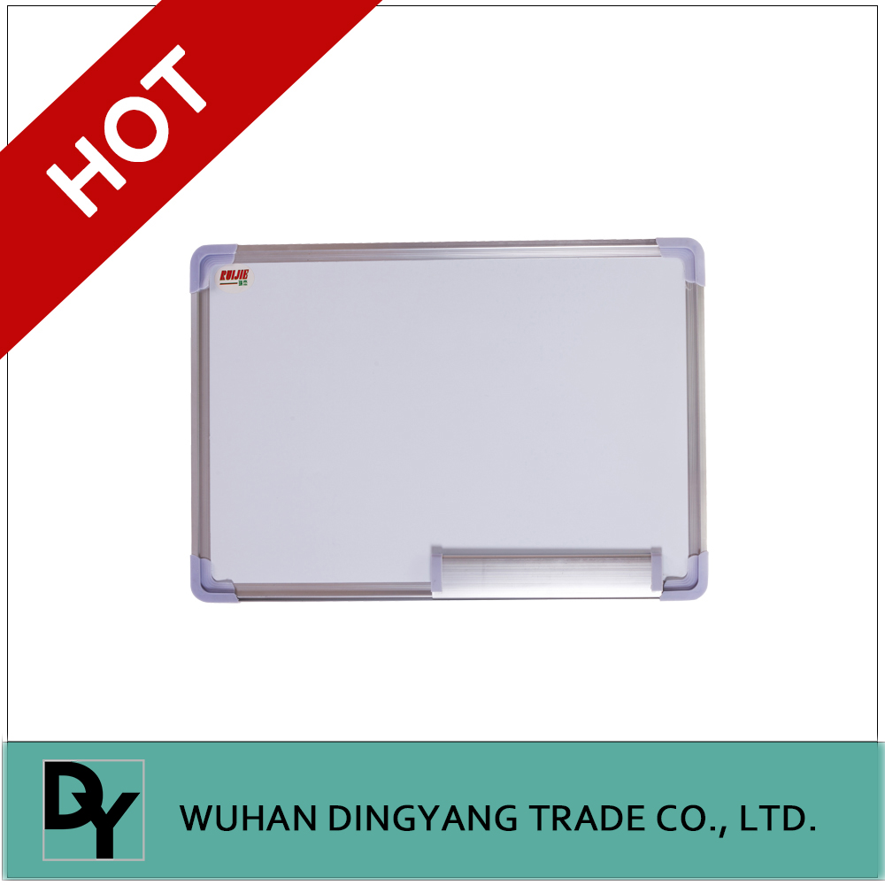 Customized magnetic whiteboard with a marker pen and fridge magnet