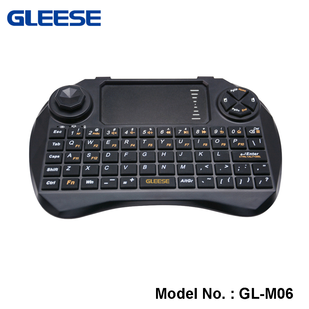 2.4GHz Mini Fly Air Gamer Mouse and Keyboard With High Sensitive Smart Touchpad Arabic,Russian,German,English Available