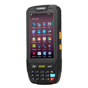 CARIBE PL-40L Mobile Data Terminal Android Rugged Industrial PDA 1D 2D Laser Barcode Scanner NFC Reader