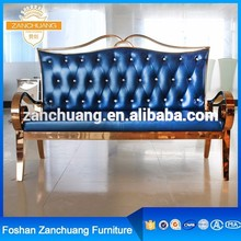 Living Room Furniture arabian style nubuck leather raw material sofa