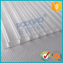 High quality PC twin wall hollow sheet used in greenhouse