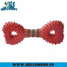 HELLOPUPPY Durable Rubber Heart Dumbbell Happy Pet Sex Toy For Dog