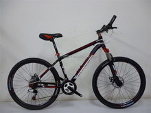 "26''mountain bicycle /18speed steel mtb bike/suspension steel argon-arc welding 26""mtb"