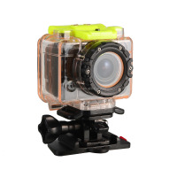 Free Shipping F20D Waterproof HD 720P Helmet Diving Outdoor Sports Action Camera