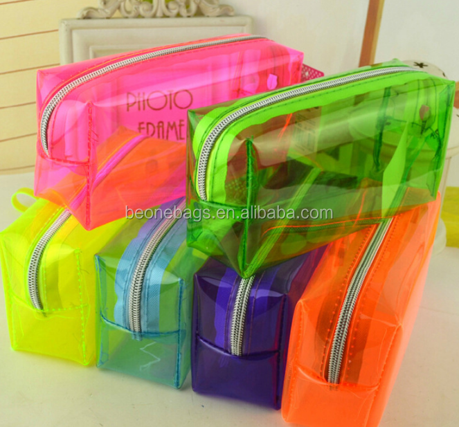 Shenzhen supplier custom pvc pencil bag