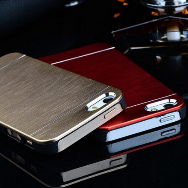 Very cheap brush metal pc for iphone 6 plus case, PC case for iphone 6+, for iphone 6 plus case metal