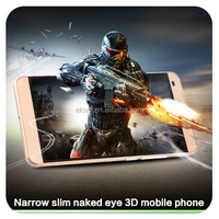 Latest naked eye 3D digital phone 5.5 inch smart phone