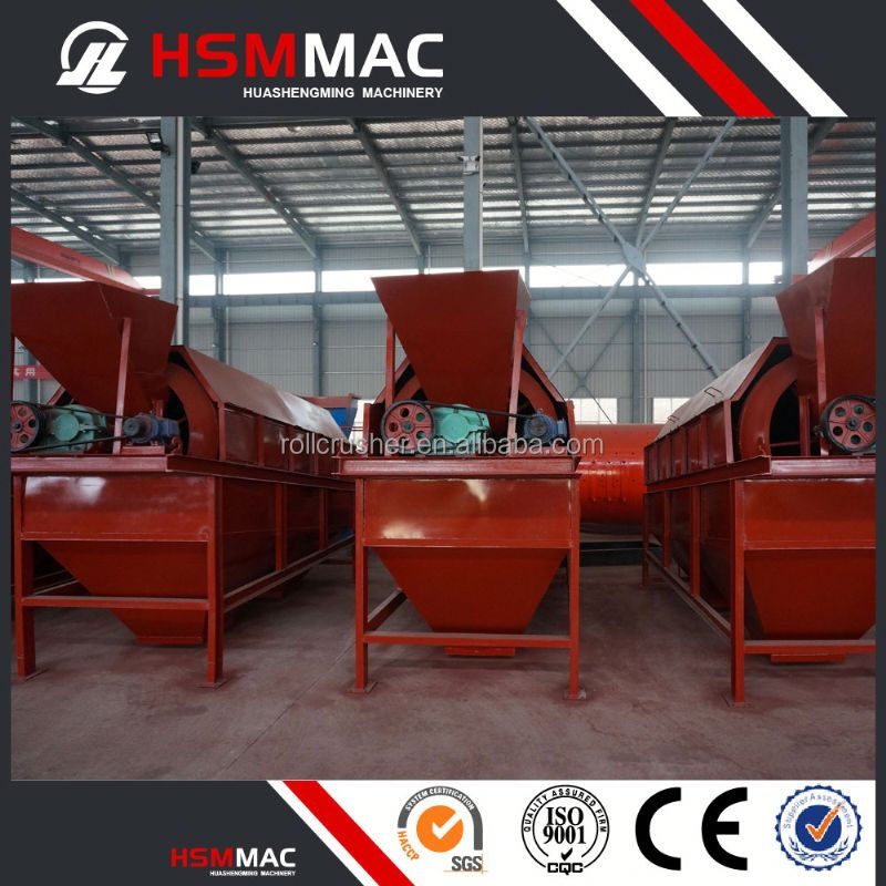 HSM Proffesional Mining Sand Ore Trommel Screen For Lead Ore