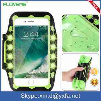 FLOVEME 2017 New Arrival Waterproof 4.7 Universal Sports Armband for Smartphone for Runnings for IPhone 7 7 Plus Armband Phone