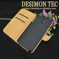 flip cover case for samsung galaxy note 3 neo n750 n7505 LOGO custom