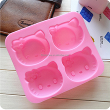 Hot selling silicone muffin cake mould, baking cup molds