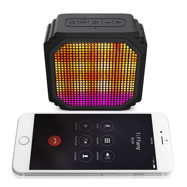 Disco party light led bluetooth speaker with Magic Rotate Ball Light speaker support remote control/TF/USB/FM