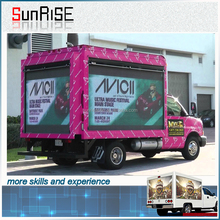 DIP/SMD p10/p8 food truck used led mobile advertising trucks for sale