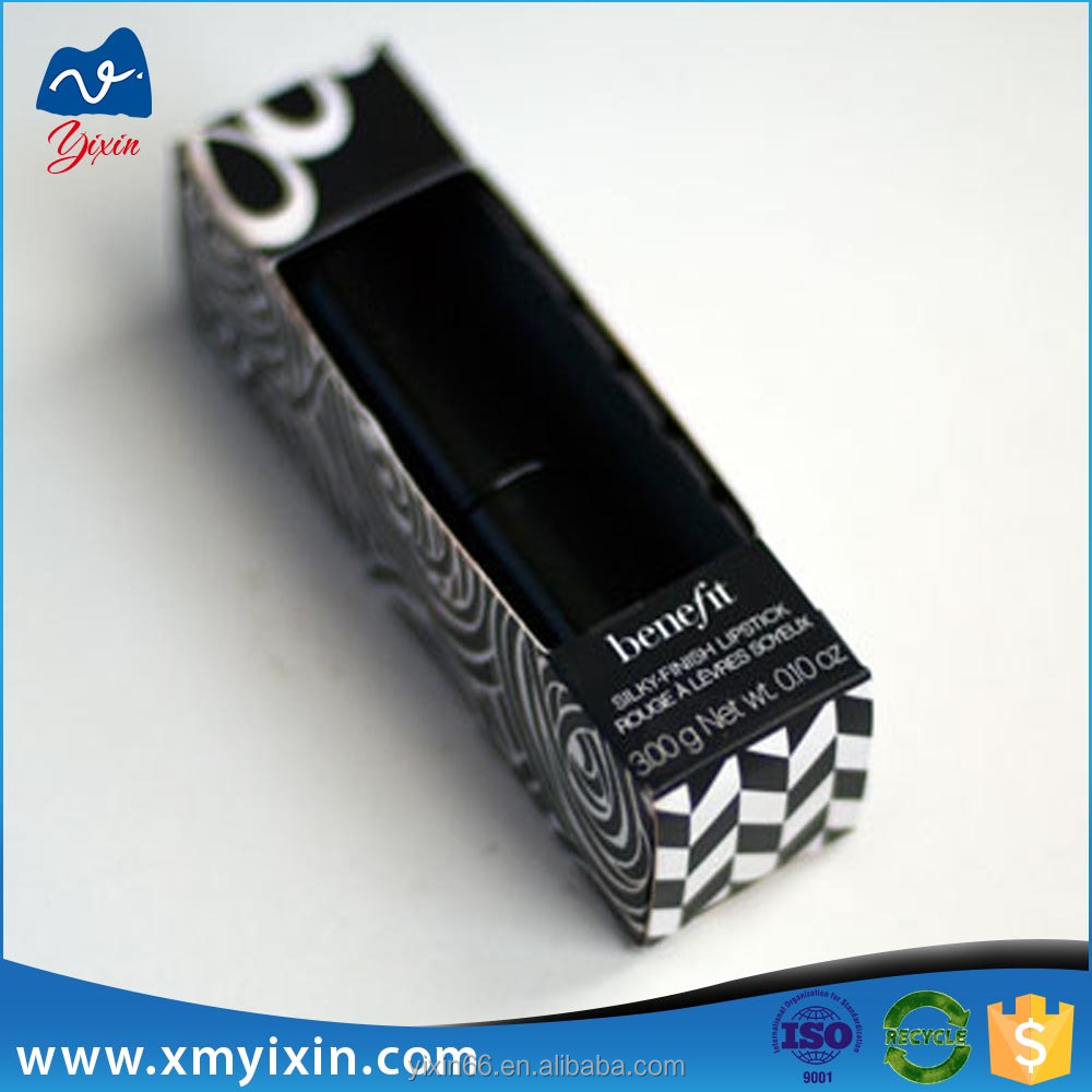 New Design Black Paper Lipstick Packaging