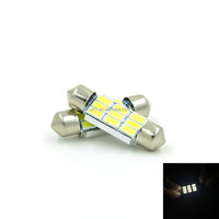 12V 5W 3014 White Led Car Light dome Reading Light